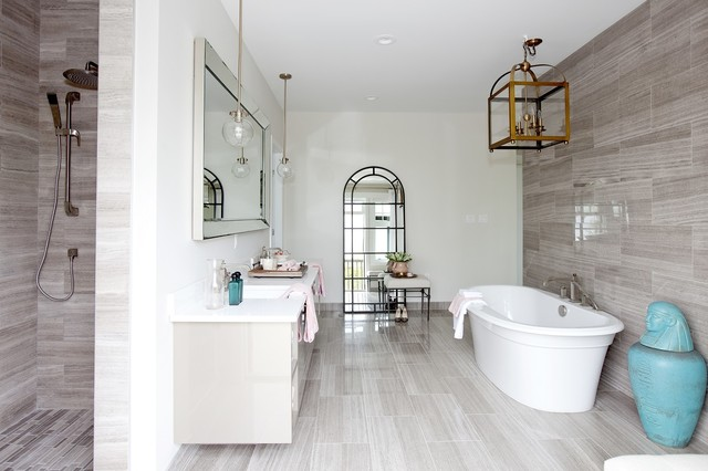PNE Prize Home 2014 Transitional Bathroom Vancouver By Studio1