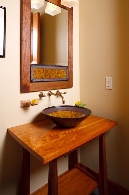 Pocket Ranch Interior contemporary-bathroom