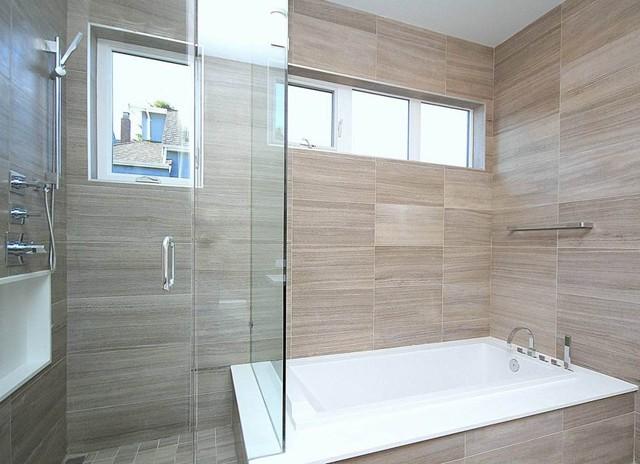 Point Grey spec house modern bathroom. Point Grey spec house   Modern   Bathroom   Vancouver   by Tanya