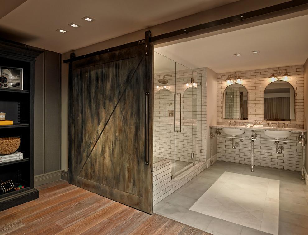 Bathroom - transitional bathroom idea in Miami