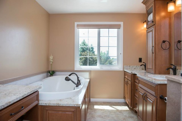 Tuscany master bathroom remodel traditional bathroom for Bathroom remodel utah