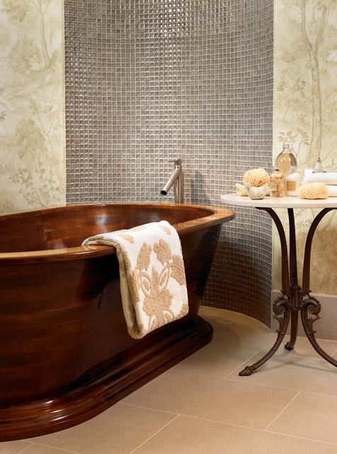 Pool House & Wine Cellar contemporary-bathroom