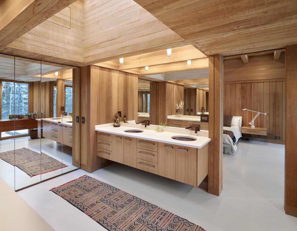 Poole Renovation - Contemporary - Bathroom - Edmonton - by ...