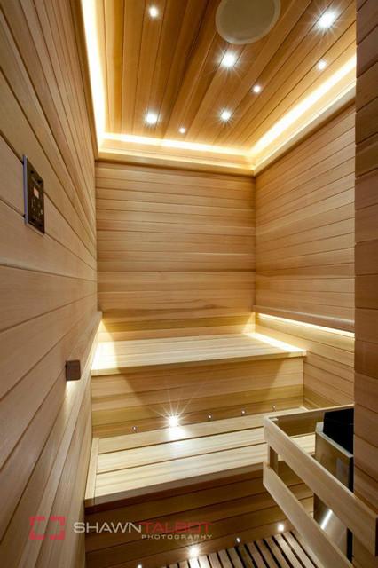 Wonderful Poolhouse Sauna Room Contemporary Bathroom