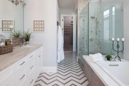 Countertop and tub surround materials