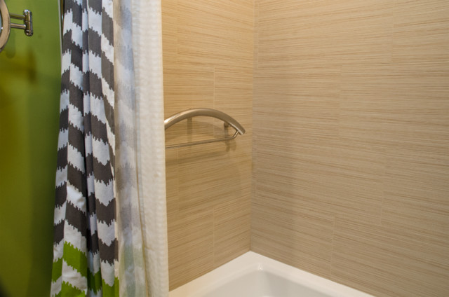 Porcelain Tiles Look Like Bamboo With A Raised Non Slip
