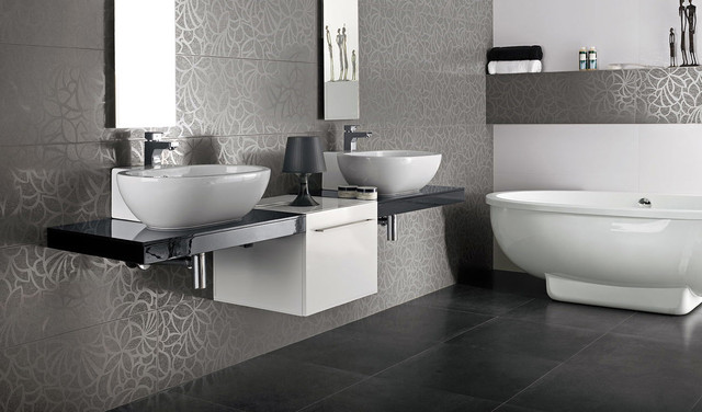 Porcelanosa bathroom from royal stone tile for Porcelanosa bathroom designs