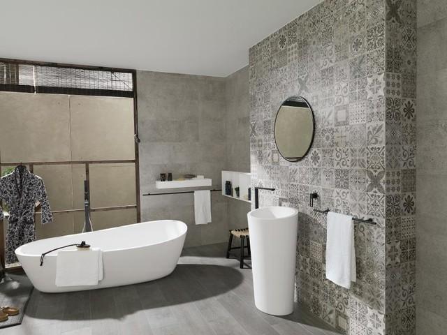 Porcelanosa Contemporary Bathroom Denver By Select Surfaces Vail