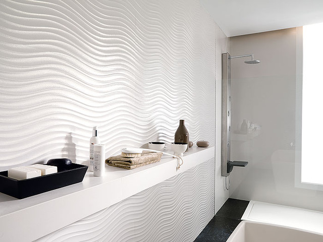 Porcelanosa tiles contemporary bathroom san for Porcelanosa bathroom designs
