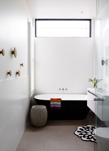 Port melbourne renovation contemporary bathroom for Bathroom decor melbourne