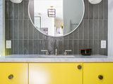Trending Now: A Shot of Color in the Bathroom (9 photos)