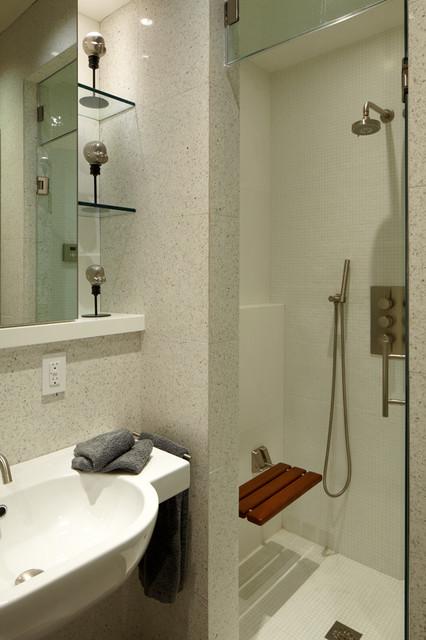 Port Washington Residence modern-bathroom