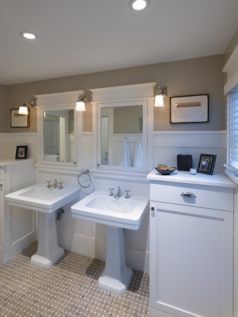 Porter Street Bungalow - Craftsman - Bathroom - dc metro - by Moore Architects, PC