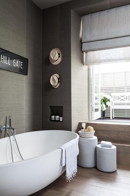 portfolio modern-badezimmer