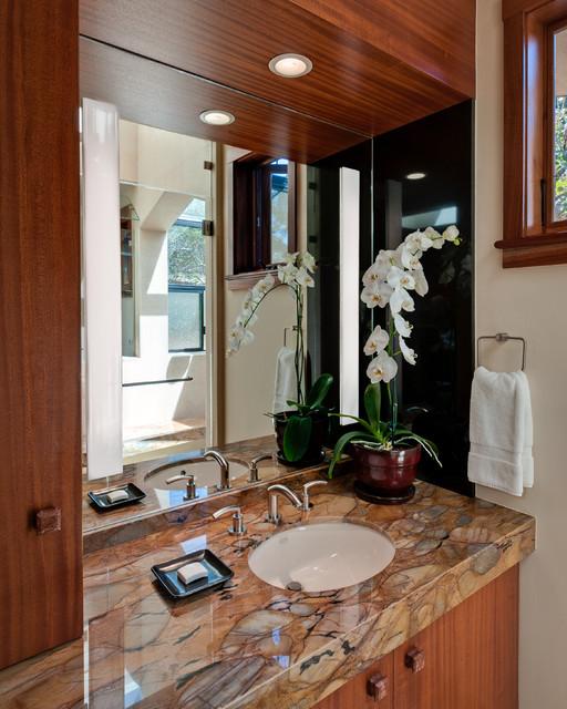 Portola Valley Contemporary contemporary-bathroom