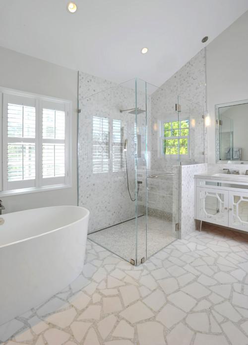 Contemporary Bathroom by Palo Alto Interior Designers & Decorators Kym Maloney Design