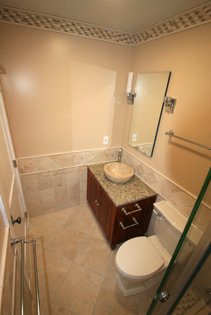 Potomac Bathroom Walk In Closet Modern Bathroom Other By Leveille Home Improvement