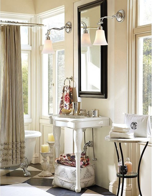 pottery barn bathroom