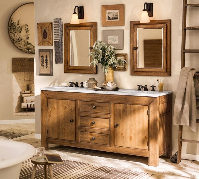 Barn Light Bathroom Vanity: Pottery Barn
