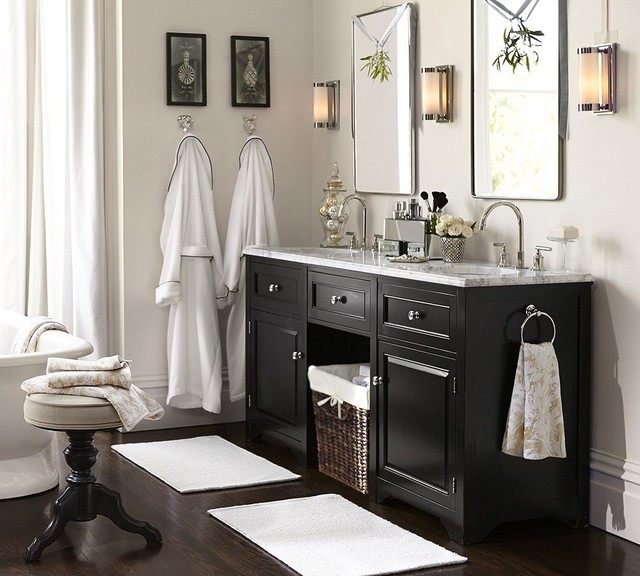 contemporary-bathroom Pottery Barn Bathroom Fixtures