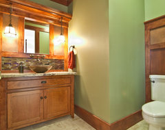 Powder Bath traditional bathroom