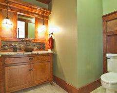 Powder Bath craftsman-bathroom