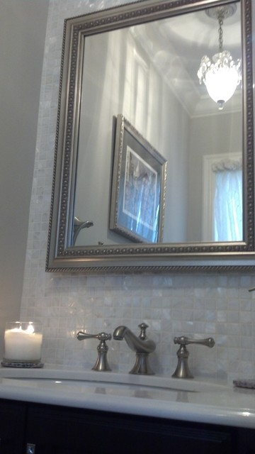 Powder room - Traditional - Bathroom - new york - by FC Corner Stone Contracting Group Inc.