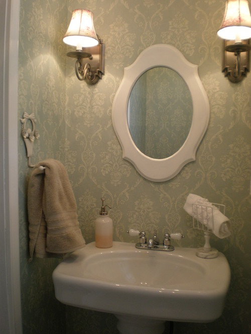 Powder Room / Half Bath traditional bathroom