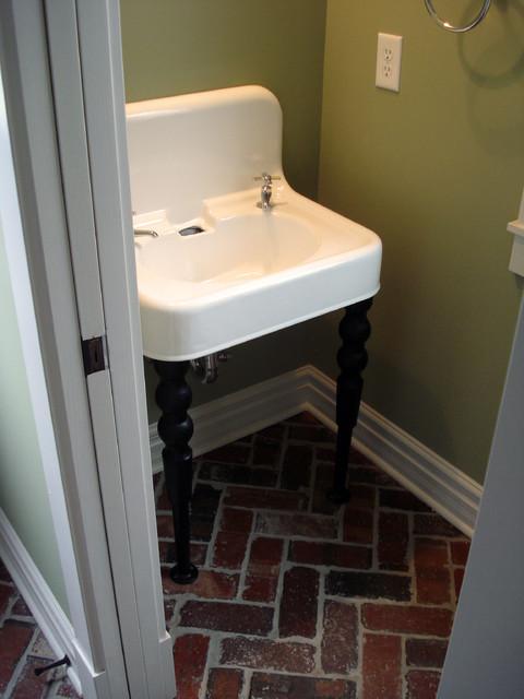Powder Room eclectic-bathroom