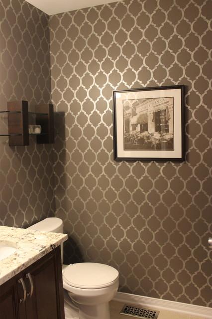 Powder Room - Contemporary - Bathroom - Ottawa - by KM Decor