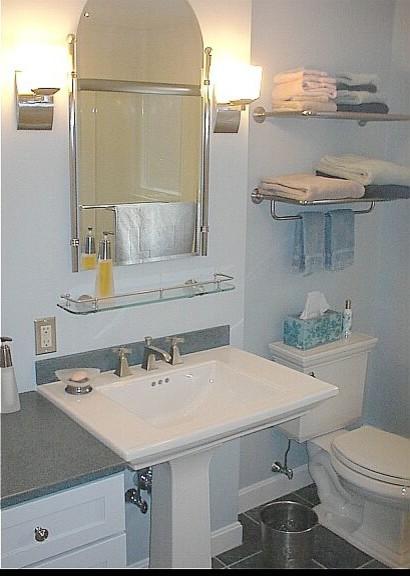Powder room remodel