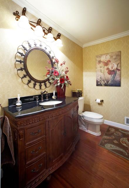 Brushed Nickel Bathroom Faucet Farmhouse