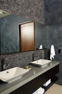 Powder Room - Farmhouse - Bathroom - Other - by Rozewski & Co., Designers, LLC