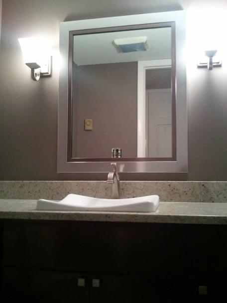 Powder room contemporary-bathroom
