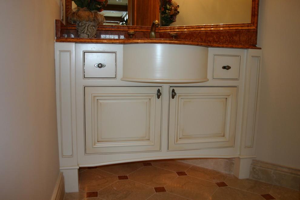 Powder room vanity - Traditional - Bathroom - Minneapolis ...