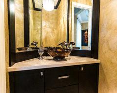 Powder rooms and bathrooms contemporary-bathroom