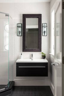 Powder Rooms Small Bath Ideas Contemporary Bathroom Boston By Roomscapes Luxury Design