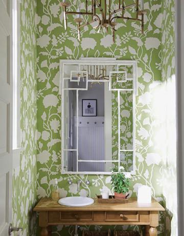 Powder Rooms traditional-bathroom