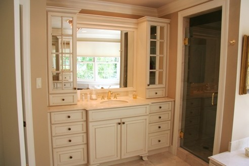 Powder Rooms traditional-bathroom