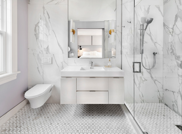 8 Inspiring Small Bathrooms 4 Square Metres or Less | Houzz AU