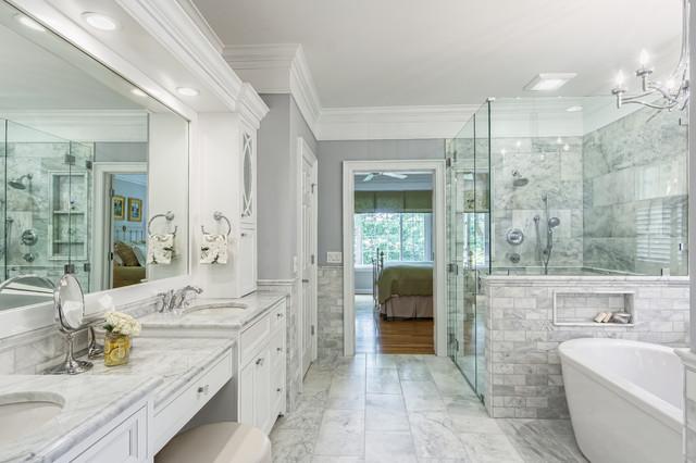 Powell Ohio Master Bath Remodel - Traditional - Bathroom ...