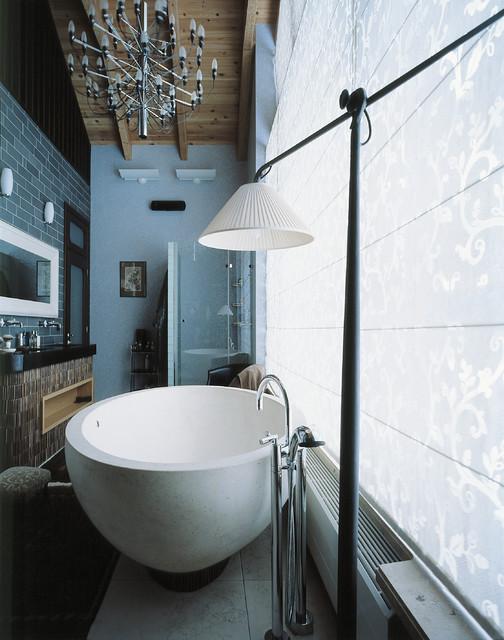 Pozdniakovo Interiour contemporary-bathroom