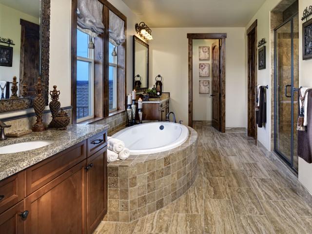 Pradera European Hillside Collection Mediterranean Bathroom Denver