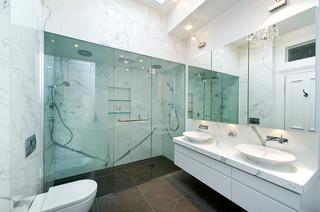 Prahran, Grandview Grove - Contemporary - Bathroom - Melbourne