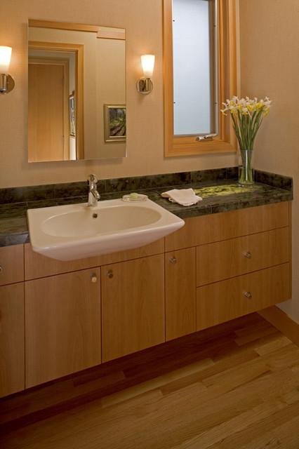 Prairie Style Architecture contemporary-bathroom
