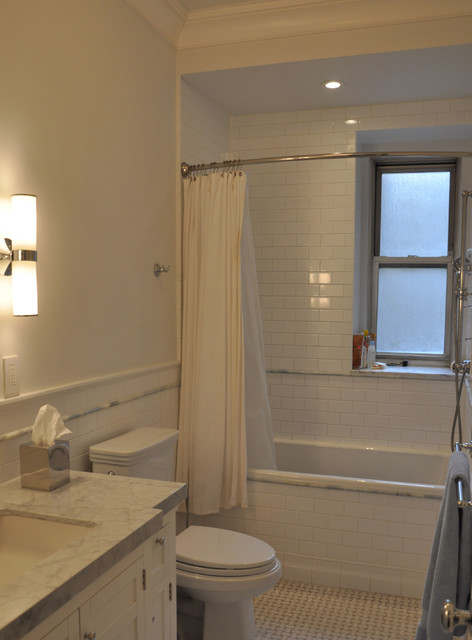 pre war apartment ii traditional bathroom new york