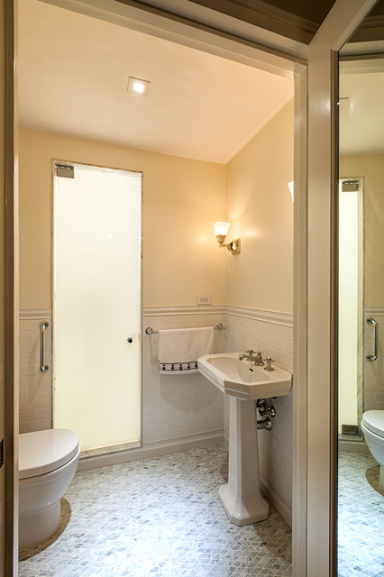 Pre-War Apartment - Traditional - Bathroom - new york - by Virtus Design