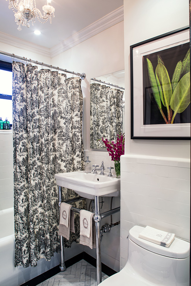 Pre-War Classic - Traditional - Bathroom - New York - by ...