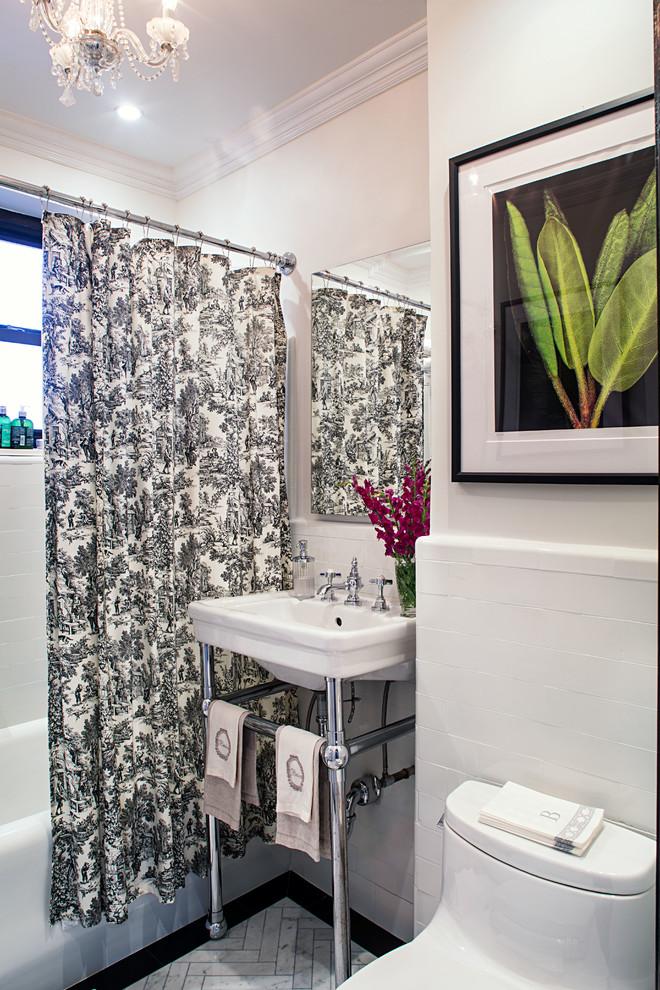Pre-War Classic - Traditional - Bathroom - New York - by ...