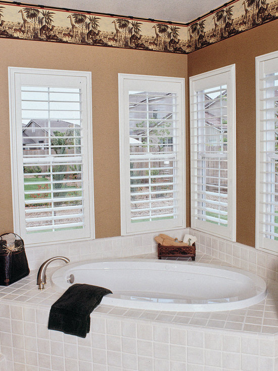 Precision Shutters - Precision Shutters manufactured by DSC Window Fashions®. Adds immense curb able as well as value to your home. Satin finish for the look of painted wood. Never have to refinish. Will not fade, crack, chip, peel or warp. Waterproof surface perfect for kitchen, Bath and nursery. Washable: easily cleaned with soap and water. Energy efficient. DSC Turn key program available in Colorado.  Extremely Affordable.